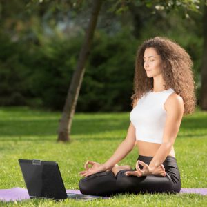 Meditation to calm your nerves before a pitch